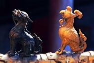 小布达拉宫上的走兽